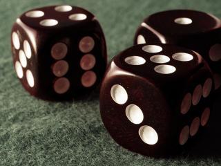 обои Игральные кубики фото