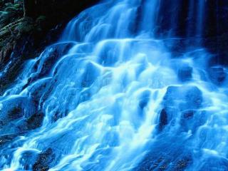 обои Каскад водопада фото