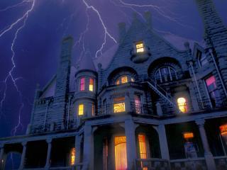 обои Ночной шторм фото