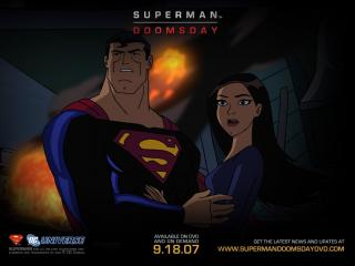 обои Супермен: Судный день фото