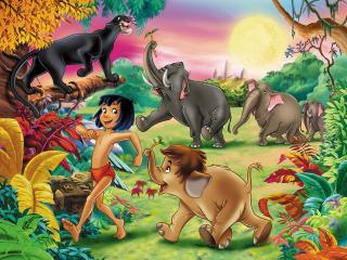 обои Маугли (Walt Disney) фото