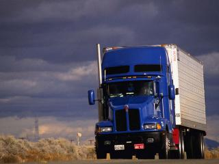 обои Американский грузовик фото