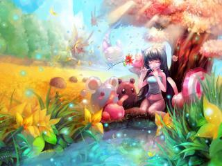обои Аниме в раю фото