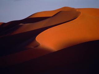 обои Песочные тени,   Морокко фото