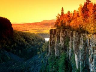 обои Осенний Свет,   Канада фото
