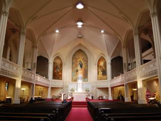 обои Внутри собора фото