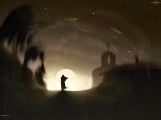 обои Надежда в конце темноты фото