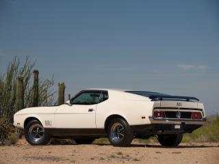 обои 1971 Ford Mustang Mach I 429 фото