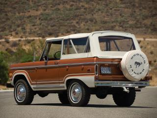 обои Ford Bronco 1966–77 фото