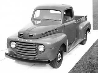 обои Ford F-1 Pickup 1948 фото