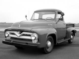 обои Ford F-100 1953–56 фото