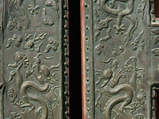 обои Роспись рисунком с Драконами фото