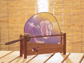обои Веер в японском стиле фото