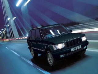 обои Range Rover на мосту фото