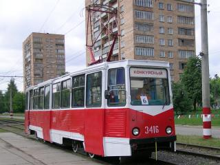 "обои Трамвай ""Конкурсный"" фото"