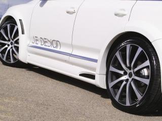 обои Volkswagen Touareg - вид на диски и обвес от JE Design фото