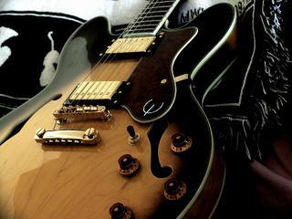 обои Гитара електоро акустика фото