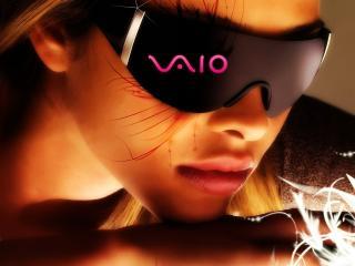 обои Vaio Girl фото