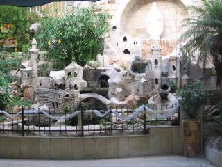 обои Малая архитектура в закрытом дворе фото