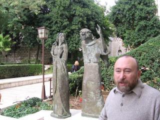 обои Памятник в Назарете фото
