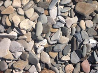 обои Камешки на берегу моря фото