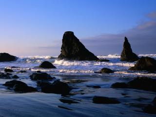 обои Камни в воде фото