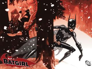 обои Batgirl Destructions Daughter фото