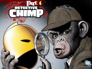 обои The Helmet of Fate Detective Chimp фото