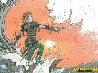 обои Комикс Aquaman фото