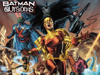обои Batman and The Outsiders фото