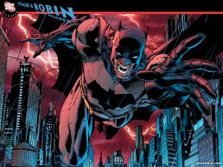обои All Star Batman and Robin the Boy Wonder фото
