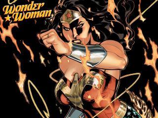 обои Комикс Wonder Woman фото