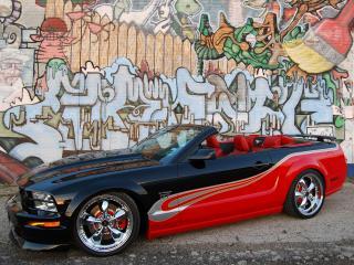 обои Тюнингованный Форд Мустанг фото