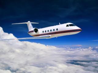 обои Небольшой гражданский самолет фото