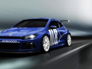 обои Скоростной автомобиль Scirocco фото