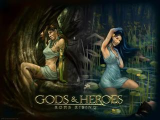 обои Gods & Heroes - Rome Rising фото