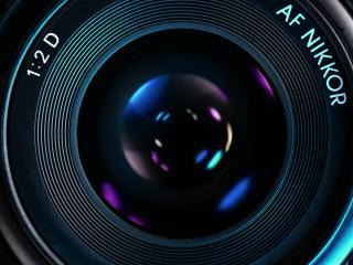 обои для рабочего стола: Объектив камеры