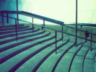 обои Лестница с перилами фото