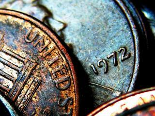 обои Монетки (wide scr) фото