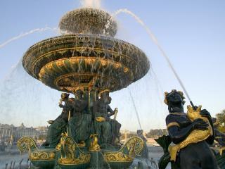 обои Красочный фонтан фото