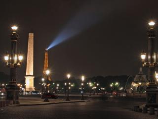 обои Ночь во Франции фото