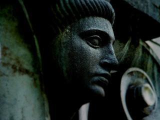 обои Лицо статуи фото