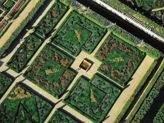 обои Сады Шато де Вилландри Эндр и Луара фото