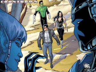 обои Countdown DC comics фото