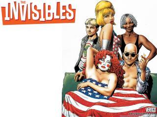 обои The Invisibles comics фото