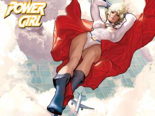 обои Comics Power Girl фото