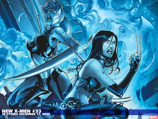 обои Comics New X-men фото