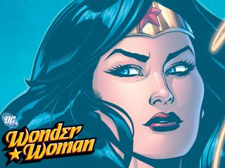 обои Wonder Woman comics фото