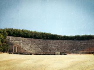 обои Старинный стадион фото