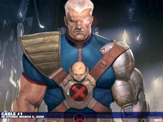 обои Comics Cable фото